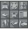 Icon car service 2 2 vector