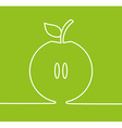 Apple fresh design vector