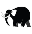 Elephant moving vector