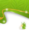 Natural alternative medication medical background vector