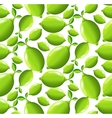 Lime seamless pattern vector