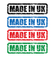 Made in uk stamp3 vector
