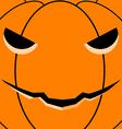 Halloween pumpkin card vector