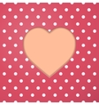 Abstract paper heart valentine vector