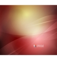 Red abstract lines background vector