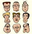 Cartoon people vector