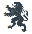 Heraldic lion20 vector