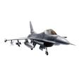 Fighter plane vector