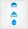 Logo car wash vector