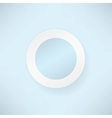 White paper round over blue backgrounds vector