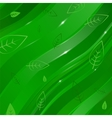 Abstract linear background with leaves for design vector