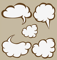 Sketchy bubbles speech vector