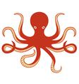 Octopus ocean vector