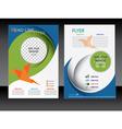 Business flyer brochure template vector