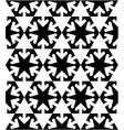 Black and white symmetric textured geometric vector