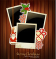 Christmas holiday background vector