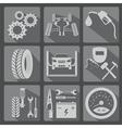 Icon car service 3 2 vector