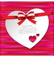 Gift cardbeautiful card vector