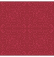 Romantic dark red seamless pattern vector
