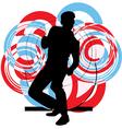 Dancing man vector