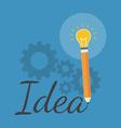 Creativity inspiration concept flat design vector