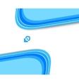 Halftone geometrical banner vector