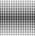 Rhombus halftone background vector