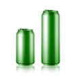 Drink foods cola beer aluminum vector