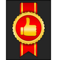 Best choice medal vector