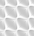White diagonal wavy net layered seamless pattern vector