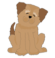 Funny dog vector