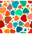 Hearts seamless background eps 8 vector