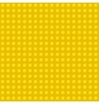 Yellow seamless background of plastic construction vector
