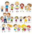 Happy and loving family vector