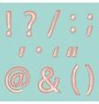 Punctuation vector