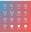 Ui design elements icons vector