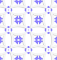 White rhombuses and blue layering vector