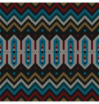 Ornamental knitted pattern vector