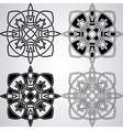 Celtic design elements vector