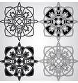 Celtic design elements vector
