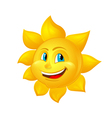 Beautiful cartoon sun vector