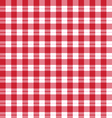 Seamless pattern red tartan vector