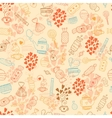 Love candy background vector