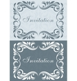 Invitation cards vector
