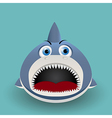 Cute baby shark vector
