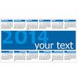 Calendar 2014 001 vector