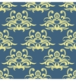 Pretty floral arabesque seamless pattern vector