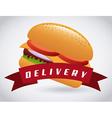Fast food design vector