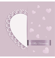 St valentines day greeting card vector