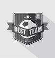 Soccer or football badge vector